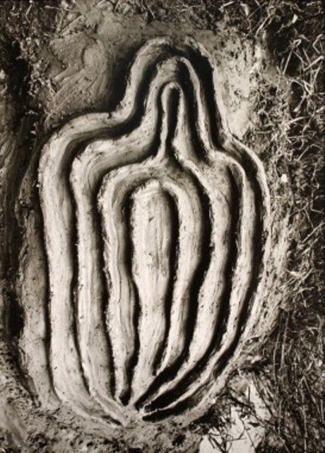 Ana Mendieta Untitled (Labyrinth of Venus Series), 1982 © Galerie Lelong