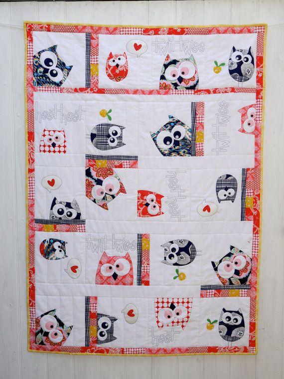 Best 25+ Owl quilt pattern ideas on Pinterest | Owl quilts, Owl ... : owl applique quilt pattern - Adamdwight.com