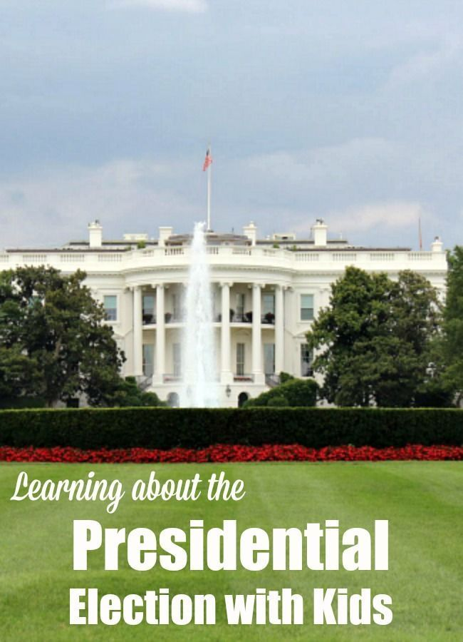 Resources For Learning About The Presidential Election With Kids Includes Printables Books Electoral