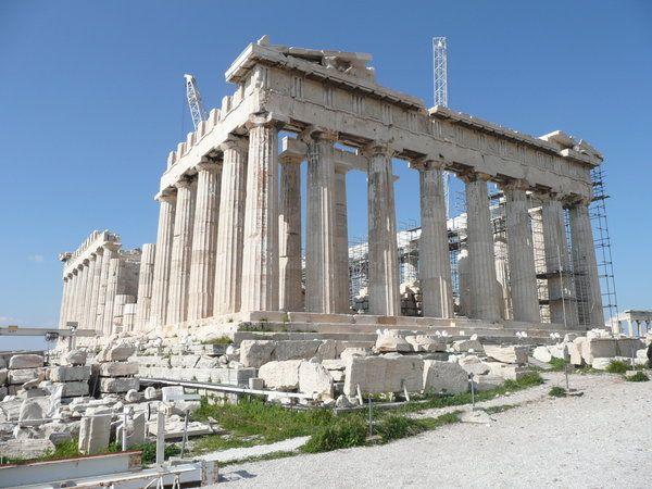 The Parthenon. // Spring 2008.