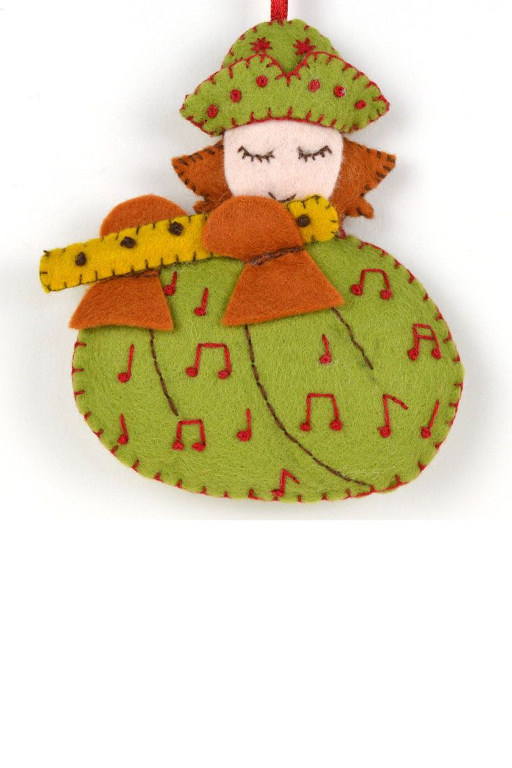 12 Days Of Christmas Felt Kits The Whole Set Felt Ornaments 12 Days Of Christmas Crafts