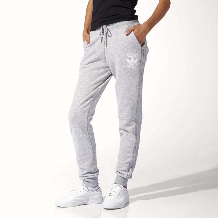 tapered adidas track pants