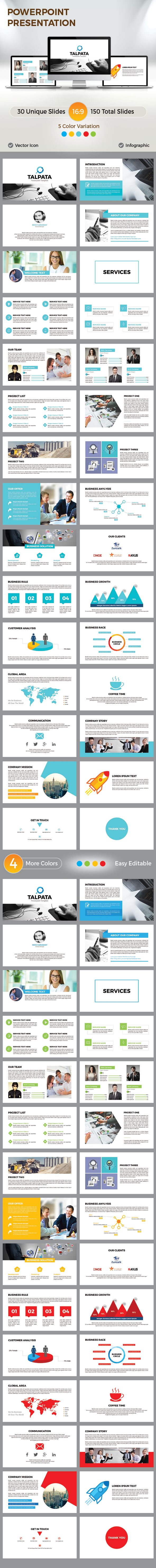 Business PowerPoint Presentation  #corporate #infographic • Download ➝ https://graphicriver.net/item/business-powerpoint-presentation/18413257?ref=pxcr