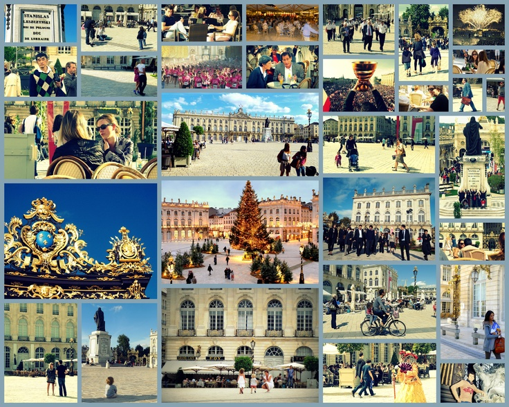 People and joie-de-vivre on the World famous Place Stanislas