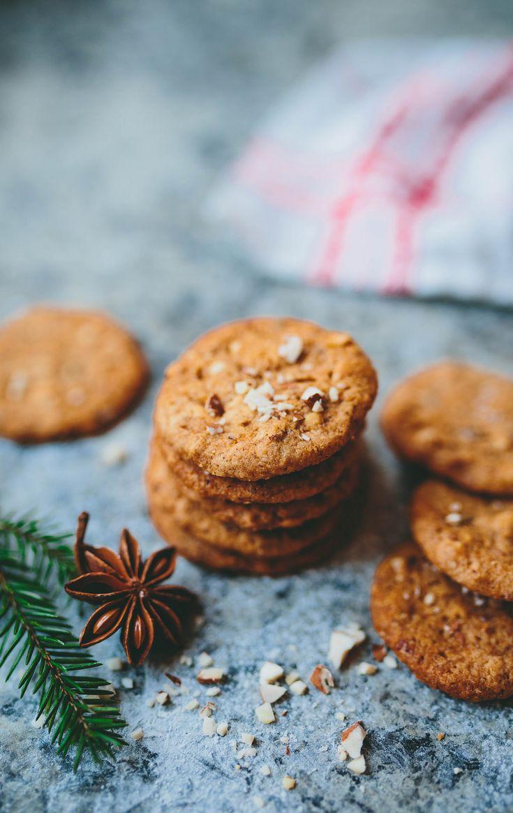 Gluten free gingerbread cookies / Glutenfria kakor med pepparkakskryddor - Evelinas Ekologiska