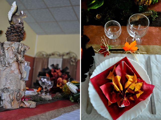 ... de l automne wedding table fall forward déco de table mariage thème