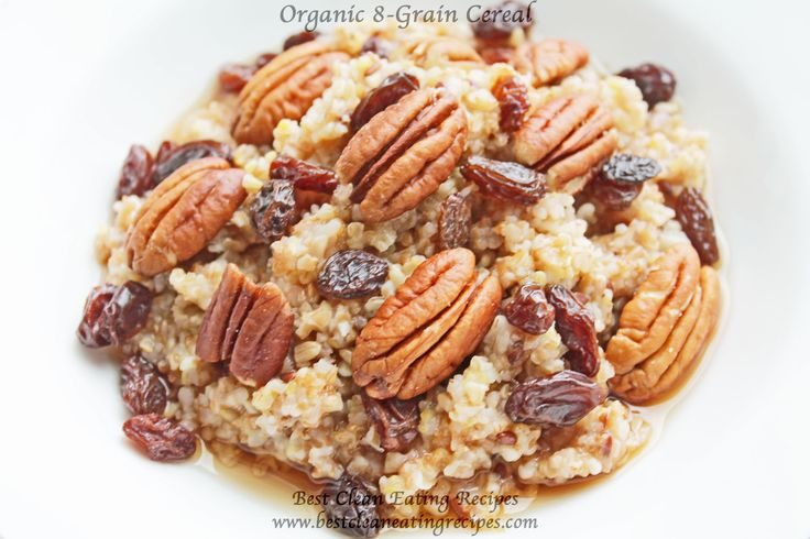 **Clean Eating Breakfast Organic Cereal** | Healthy Weight Loss Recipes | Easy Healthy Recipes | Clean Eating Diet #cleaneating #healthyeating #breakfast