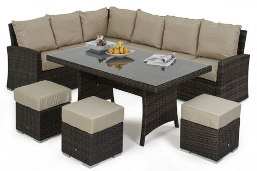 Kingston Corner Dining Set - Koncept Furnishing