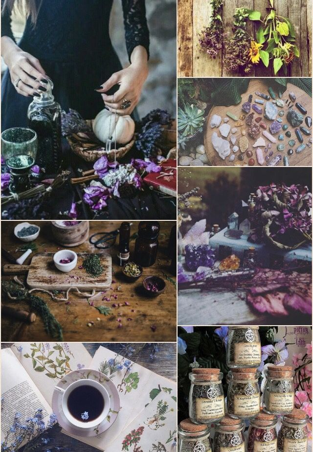 """moon-witch-queen: """"Kitchen Witch Aesthetic  """""""