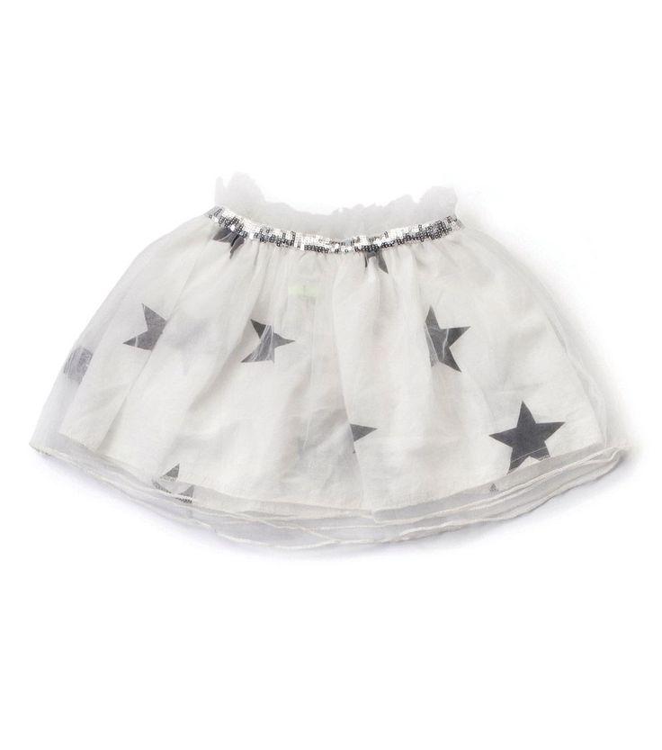 Our Brands :: Nununu :: Tulle Star Skirt White -