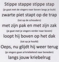 Versje Zwarte Piet (Uit de nieuwe methode van Jules!)