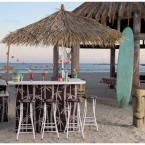 Best of Times Seattle Seahawks All-Weather Patio Bar Set with 6 ft. Umbrella-2003W1218 at The Home Depot