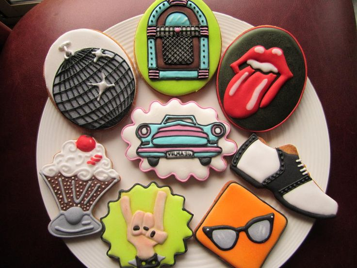 Fifties themed party set | Cookie Connection