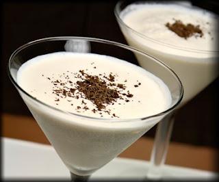 White Chocolate Martini...make with Stoli Vanilla & White Godiva, & Baileys
