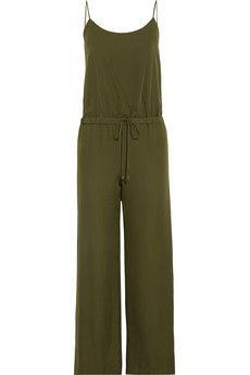 Haute Hippie Silk crepe de chine jumpsuit | THE OUTNET