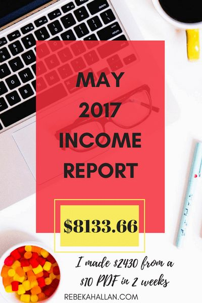 MAY 2017 INCOME & TRAFFIC REPORT - Rebekah Allan