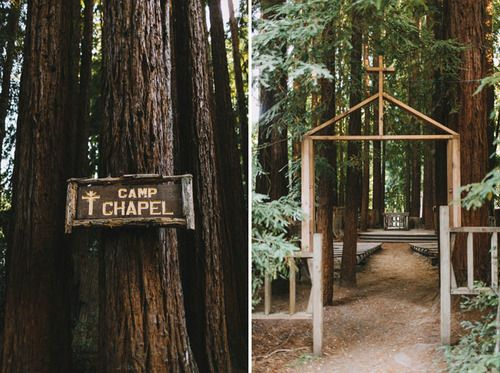 Camp Campbell - 12 Redwood Wedding Venues in the Bay Area — Tip Top Planning