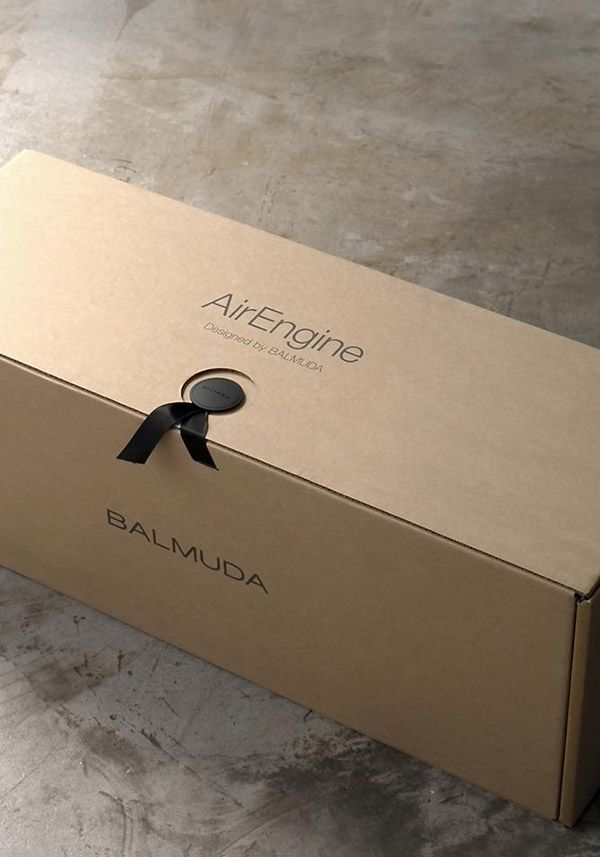BALMUDA AirEngine   25cm、25cm、70cmの省スペース空気清浄機は、このパッケージに。