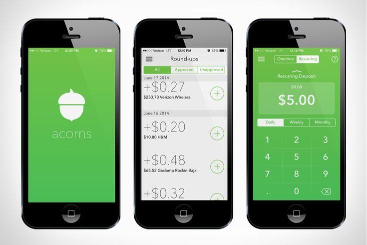 Acorns App Wants to Invest Your Spare Change - Direkt Concept