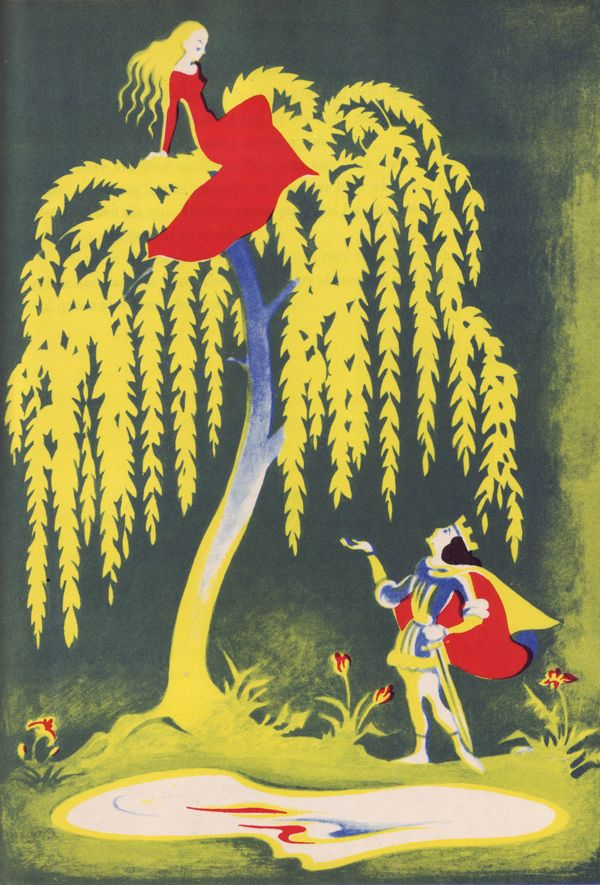 STUNNING    Illustrations by Einar Nerman for Fairy Tales from the North, circa 1946    Fairy Tales from the North - 50 Watts