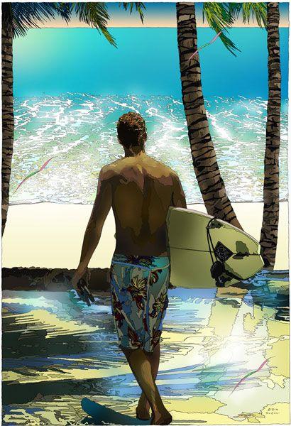 YOKOHAMA BAY SURFER