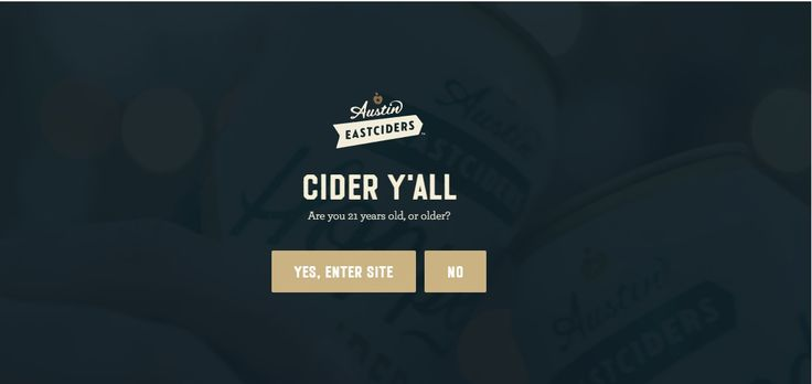 Austin Eastciders  #bigtypography #appdesign #mobiledesign