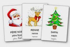 http://dessinemoiunehistoire.net/ L'imagier de Noël à imprimer, imagier Noël maternelle
