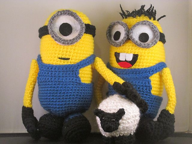 Ravelry: Interchangeable Minion Figures - Despicable Me ...