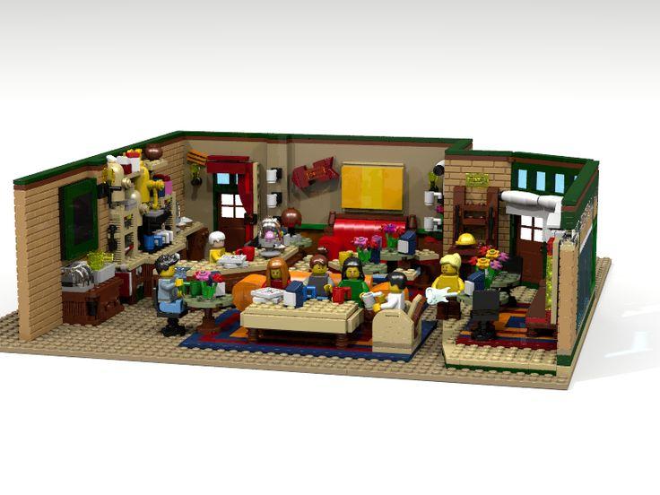 Lego kawiarnia