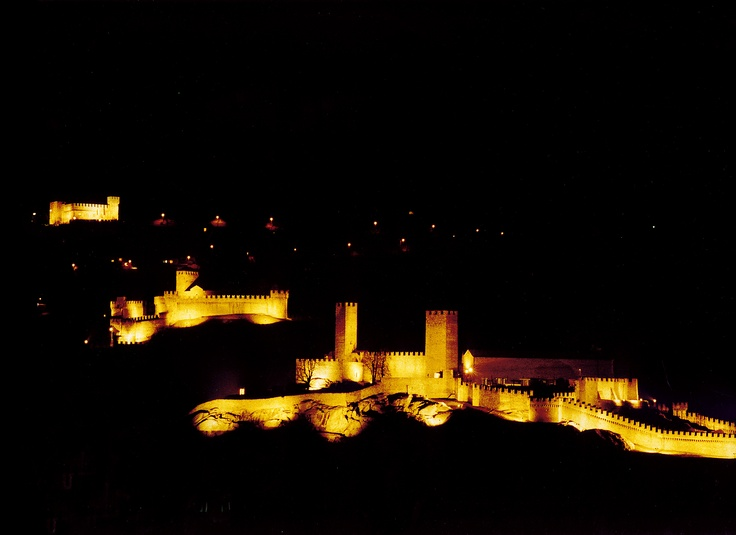 A view of the 3 castles!