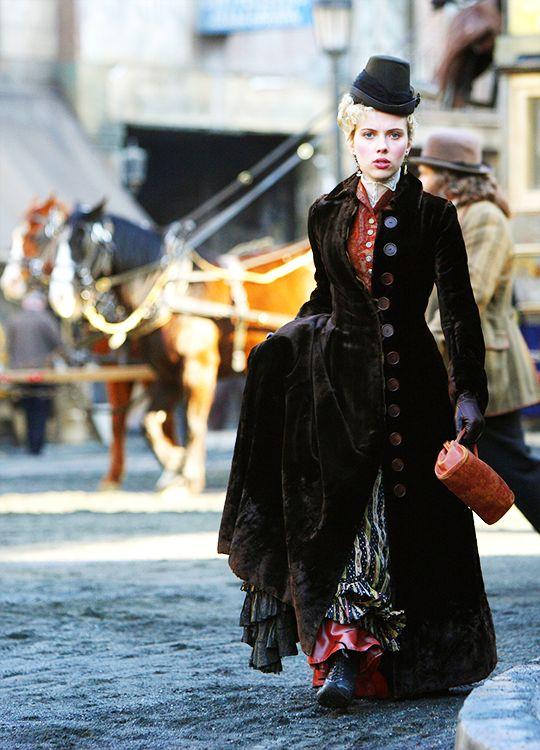 Scarlett Johansson in 'The Prestige' (2006).