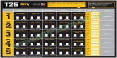 Focus T25 Beta Phase Calendar