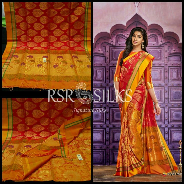 Plz Chk more collections 👉https://www.facebook.com/rsrsilksonlineshopping/  PURE KANCHIPURAM SILK SAREES  International shipping also available  HOW TO ORDER - Saree image and Saree details will be mentioned in the description alongside of each photo. Please drop us an email to rsrsilks@gmail.com or whatsapp +91 9159715557 mentioning the saree details and image of the saree, your address and contact number We will revert with the account details. Any details Whatsapp No. +91 9159715557