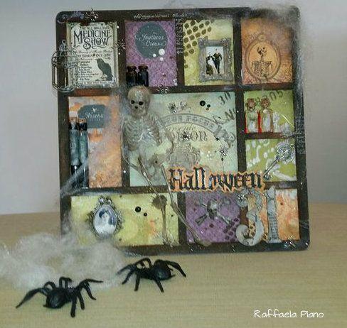 Dreams, Life and Scrap: Una cornice per Halloween