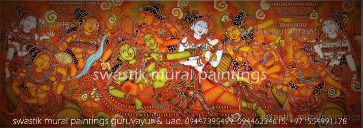 Parvati chamayam  Artists: Dileep swastik & Hariharan swastik #keralamuralpaintings  #muralart #paintings #anandasayanam #padmanabhaswamitemple #guruvayur #canvaspaintings #muralclasses #swastikmuralpaintings #sivaparvathi #parvathi #god