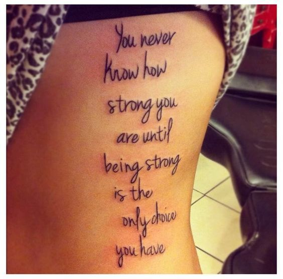 30 Positive Tattoo Ideas For Women That Are Very