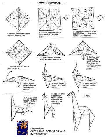 Origami Person Instructions . Elegant origami Person
