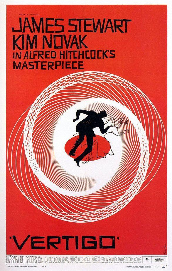 Free to save and print - Vertigo movie poster