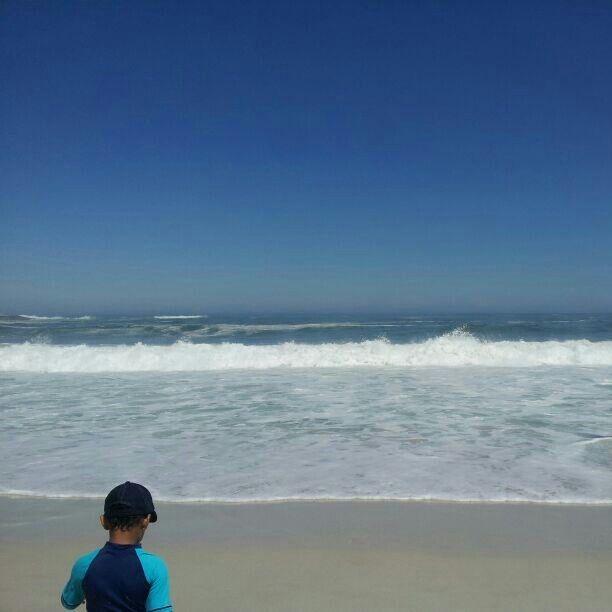 Camps Bay #beach #capetown #waves #kidfun