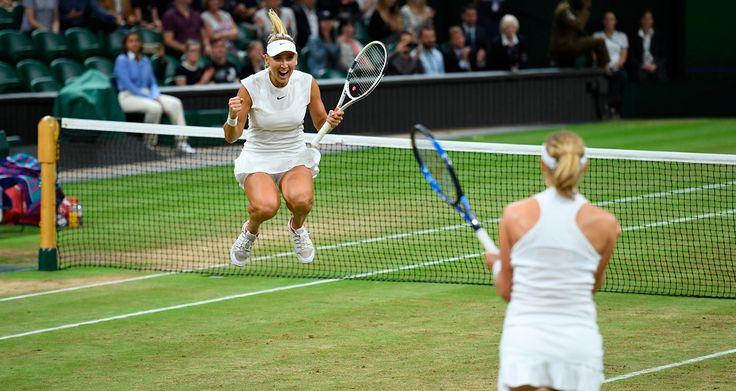 Russia's Elena Vesnina and Ekaterina Makarova win their first Wimbledon title