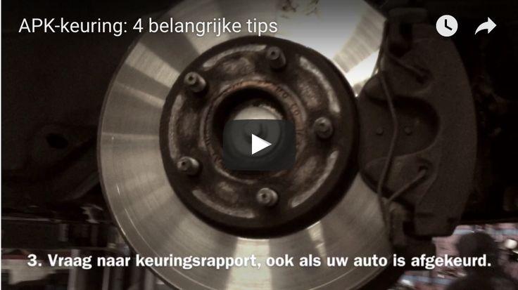 In deze video krijg je 4 belangrijke tips voor de APK-keuring van jouw auto.