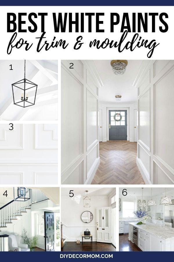 Best White Trim Paint Colors 12 Best White Shades Diy Decor Mom