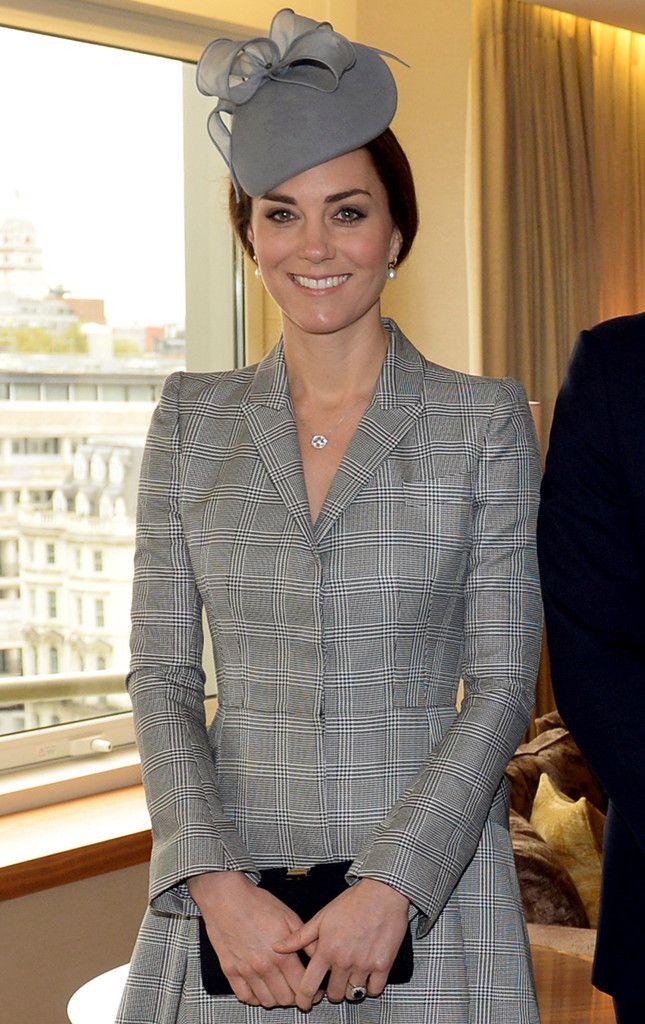 "HRH Duchess of Cambridge wearing Jane Taylor Millinery A/W 2014 ""Lupin"". #passion4hats"