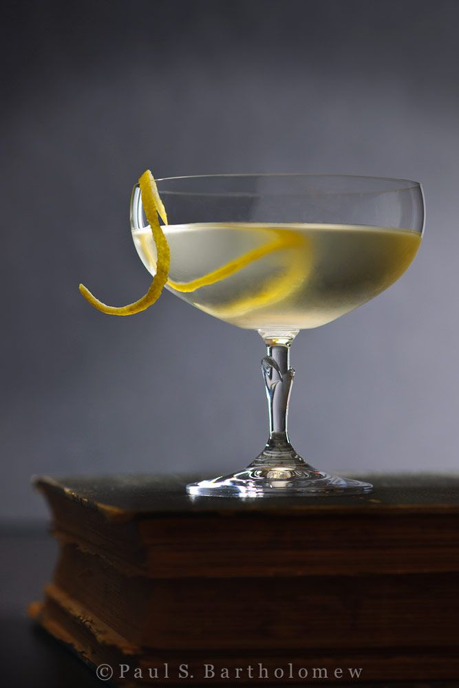"""The Vesper - as written by Ian Fleming for James Bond:    """"Three measures of Gordon's, one of vodka, half a measure of Kina Lillet. Shake it very well until it's ice-cold, then add a large thin slice of lemon peel. Got it?"""" -Casino Royale, Chapter 7    3 oz of Gordon's Gin  1 oz of vodka  .5 oz measure Kina Lillet  lemon peel for garnish"""