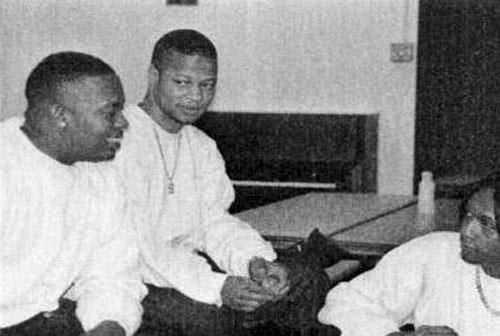 Dr Dre, Sam Sneed and DJ Quik