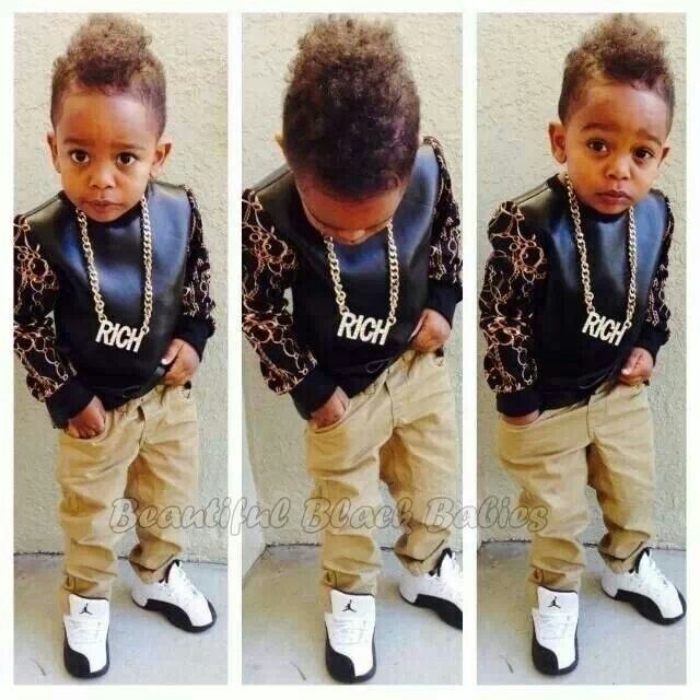 Pin by Petrina Britt on Baby Baby | Kids fashion baby ... |Little Black Kids With Swag