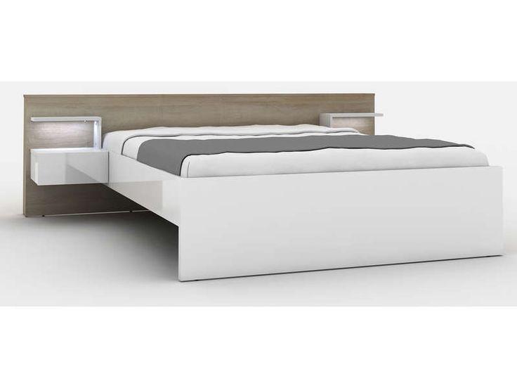 lit avec led conforama trendy conforama tte de lit avec rangement twioris noir et gris. Black Bedroom Furniture Sets. Home Design Ideas