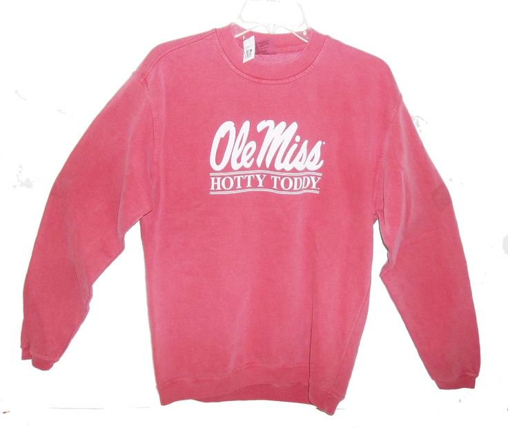 ole miss sweatshirt comfort colors : )