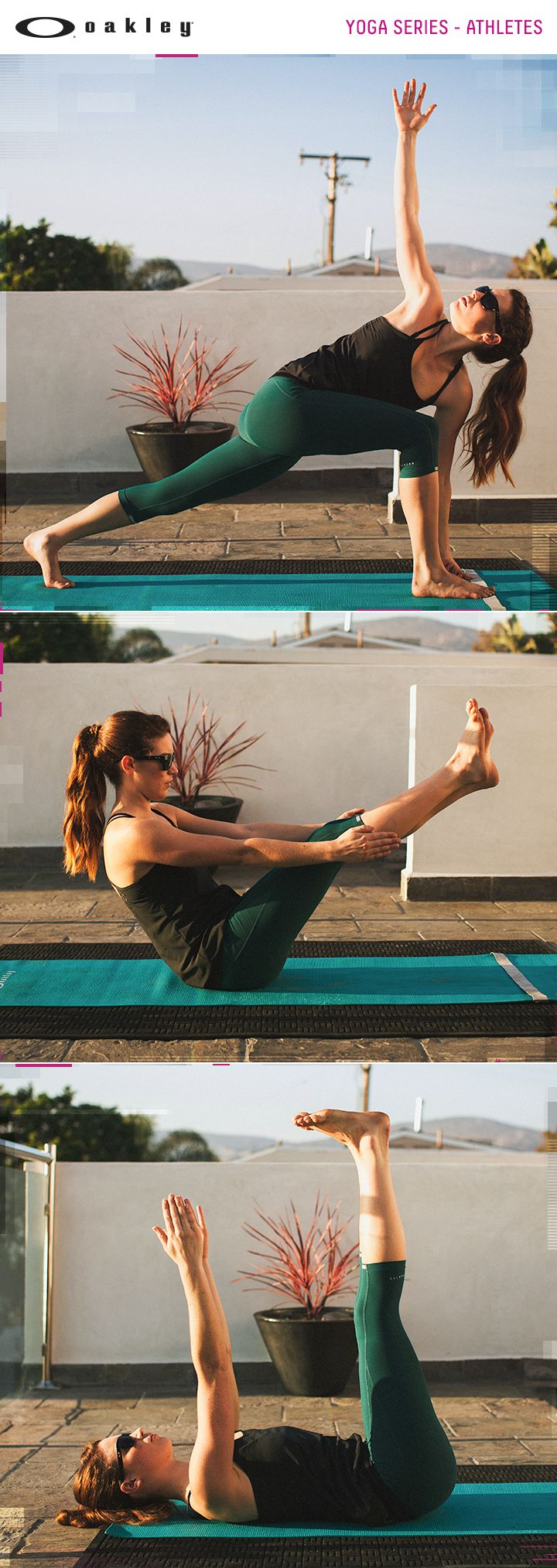 Lindsay Gonzalez and Caitlin O'Hara move you through an athletic sequence for some fierce and fiery yoga moves for athletes. Video series. National Yoga Month. Yoga for Athletes.