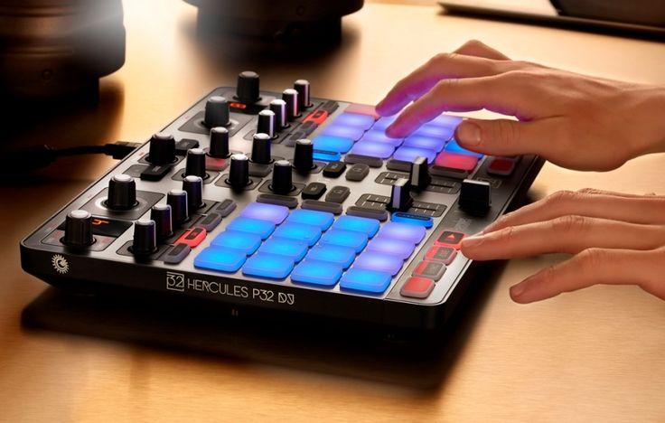 Nuevo controlador de pads: Hercules P32 DJ